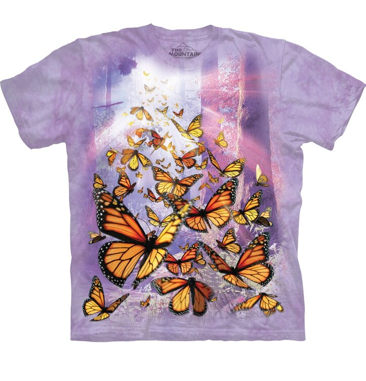 T-Shirt Schmetterlingsaufstieg