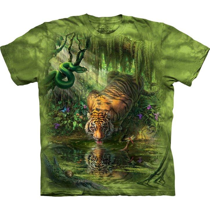 Szomjas tigris póló