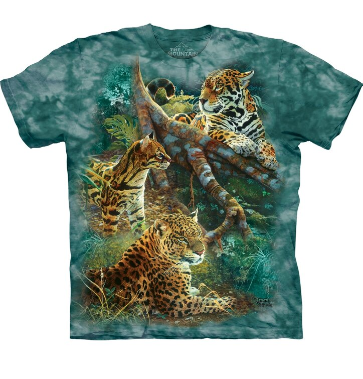 T-shirt Peaceful Beast