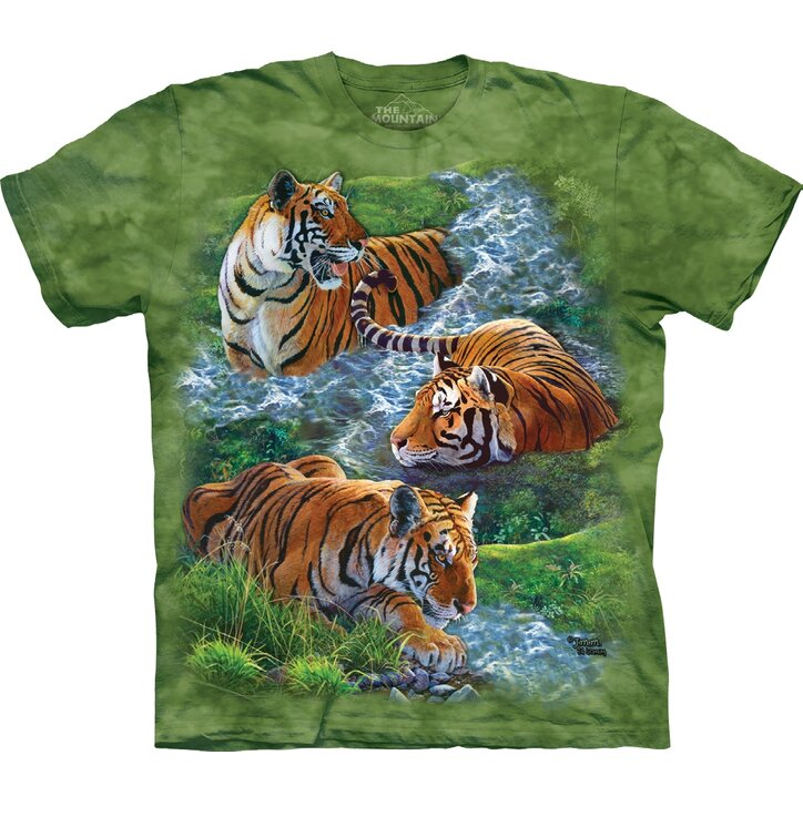 T-shirt Peaceful Tiger
