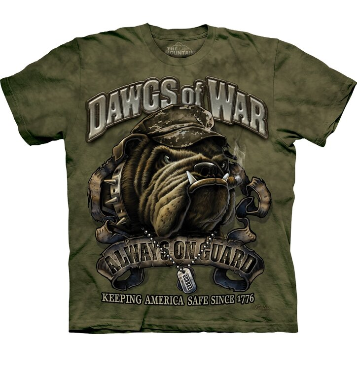 T-shirt Bulldog Soldier