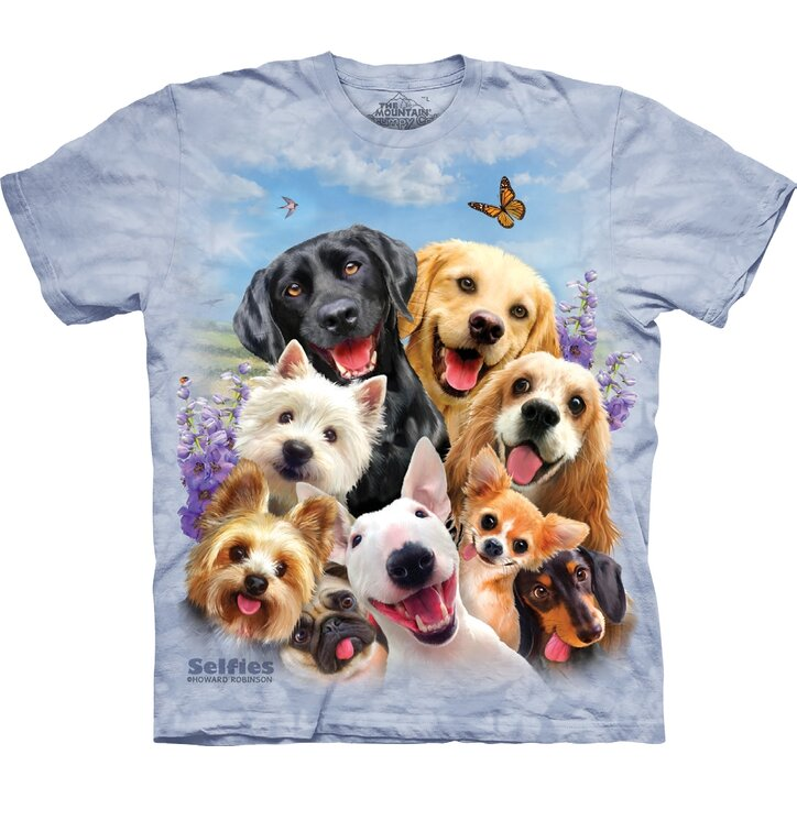 T-shirt Crazy Dogs