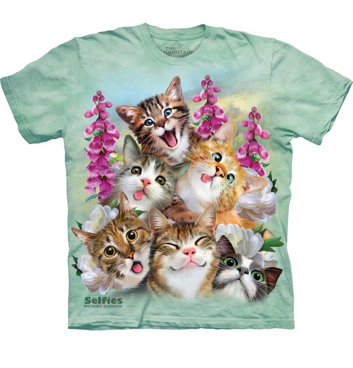 T-shirt Crazy Cats
