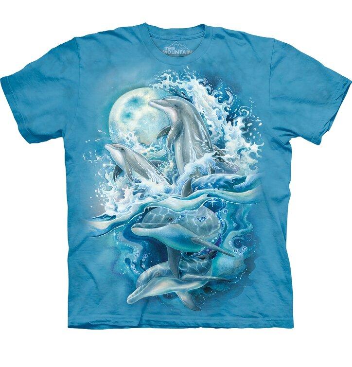 Tricou Jocuri de delfini