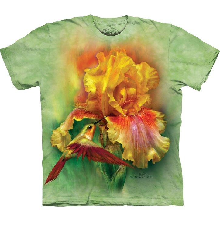 T-Shirt Strahlende gelbe Blume