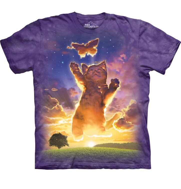 T-shirt Heavenly Cat