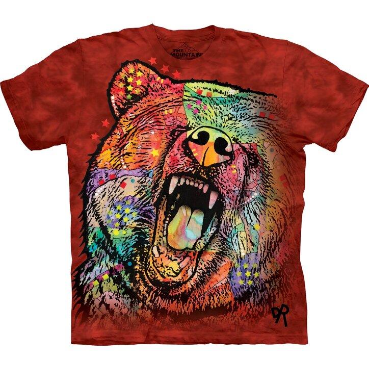 T-shirt Colourful Furious Bear
