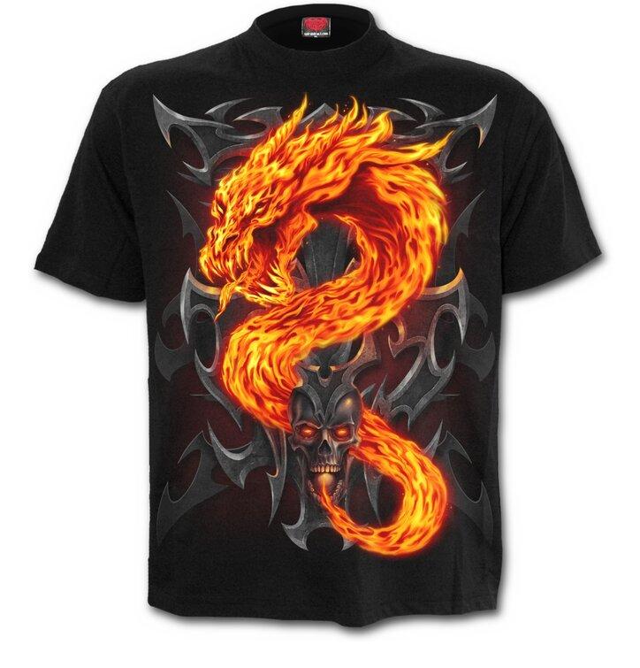 Tričko Žiarivý drak