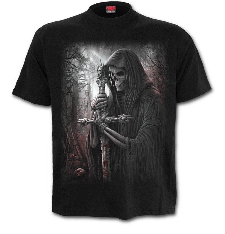 Tričko plus size Rytier smrti