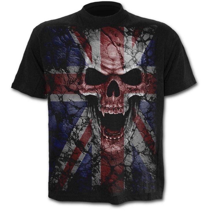 T-shirt English Skull