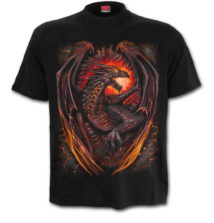 Tričko plus size Dračí strážca