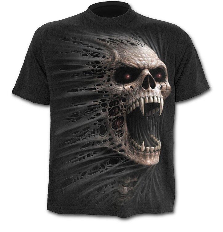 T-shirt Flying Skull