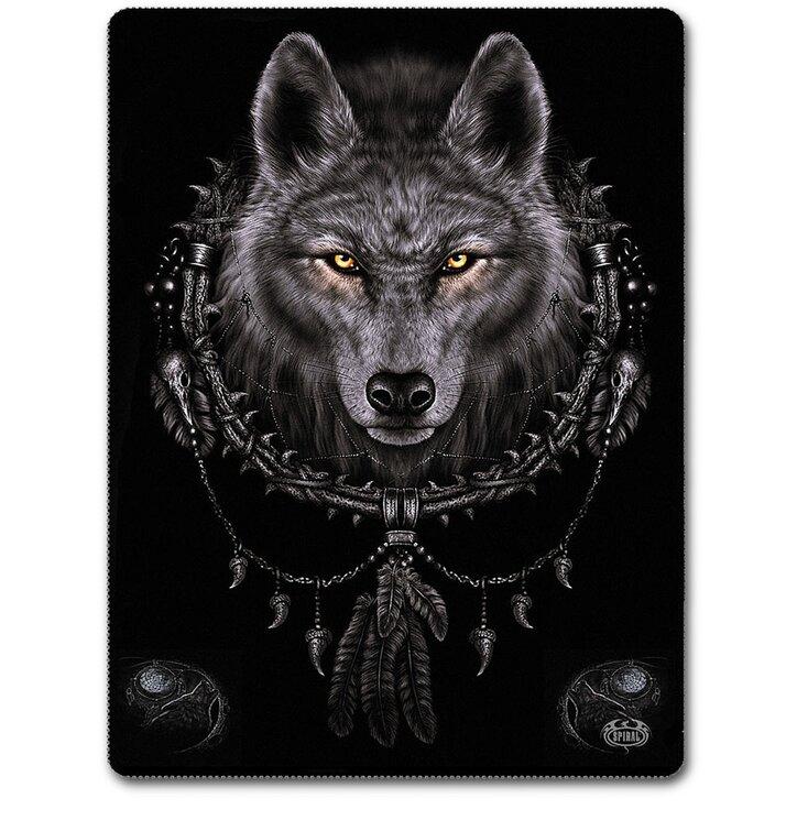 Deka Pohľad vlka