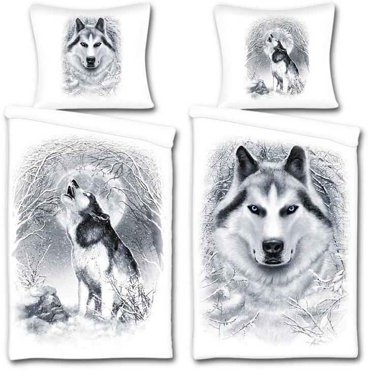 Duvet Cover White Wolf