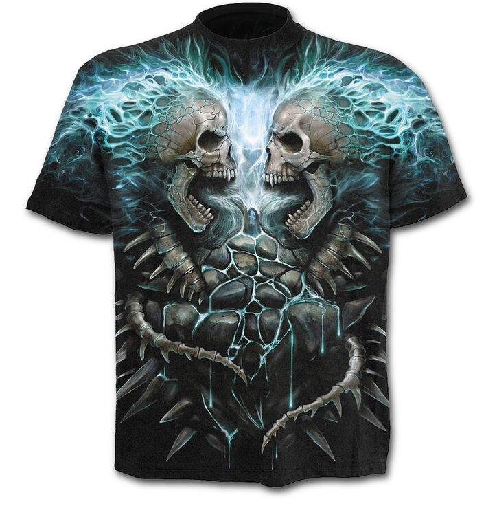 T-shirt Blue Flame