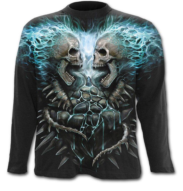 Long Sleeve Blue Flame