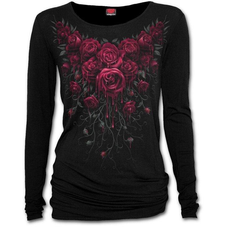 Véres rózsák női póló