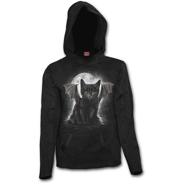Potěšte se tímto kouskem Dedoles Dámská mikina Batman kočka a0d588615e