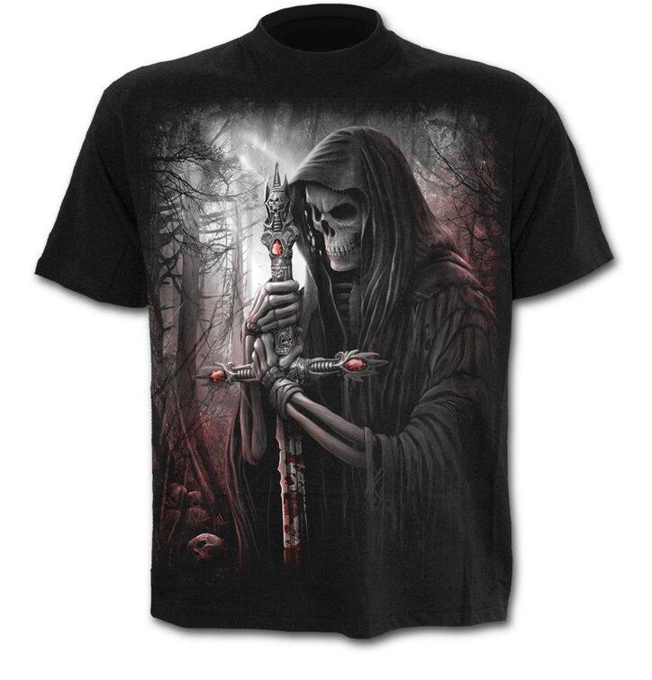 Výjimečný dárek od Dedoles Tričko černé Rytíř smrti 61215ba77f