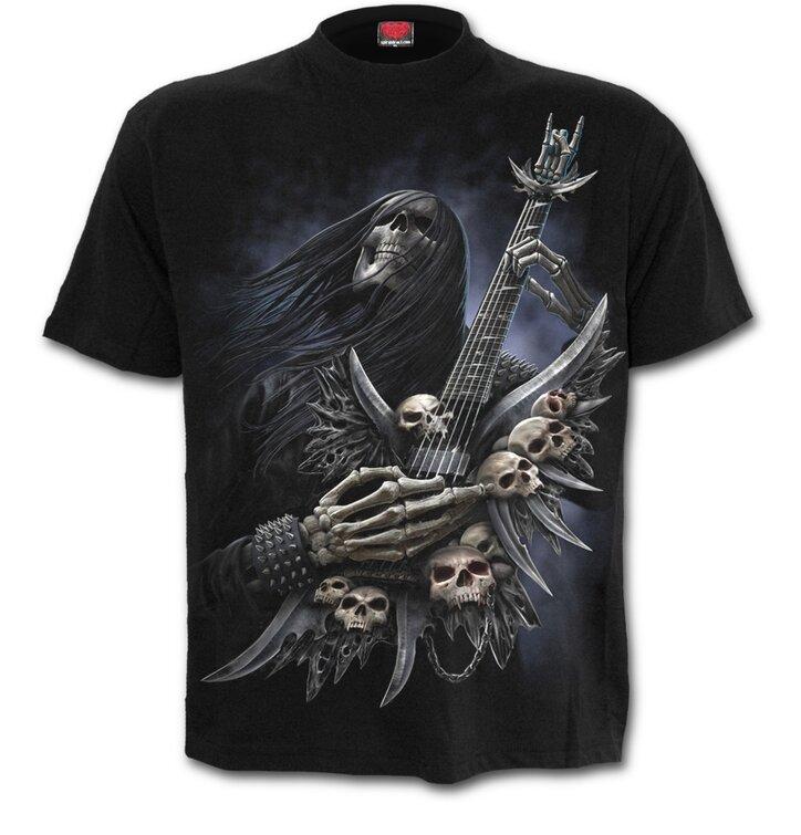 T-shirt Guitarist After Dead