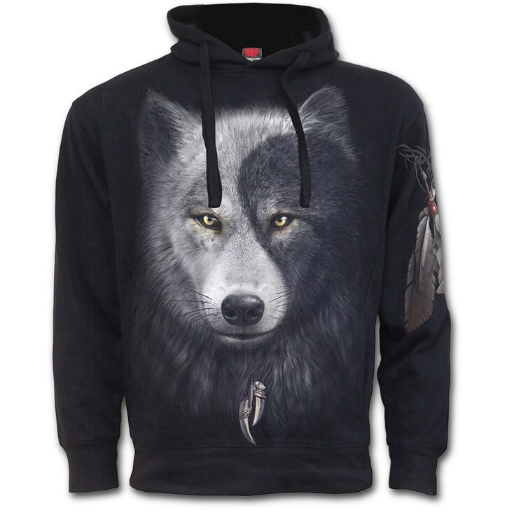 Hoodie Wolf's Face
