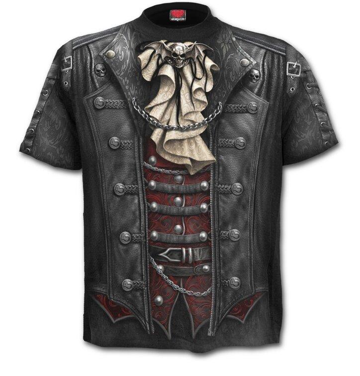 T-shirt Plus size Black Earl