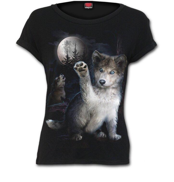 Dámske tričko Vlčie mláďa