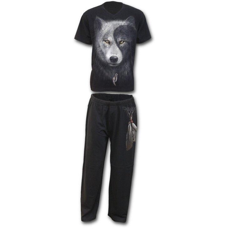 Pyžamový set Tvár vlka