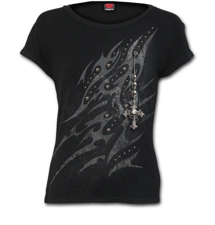 Dámské tričko Kříž ochrany