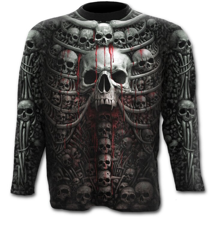Long Sleeve Skull Collection
