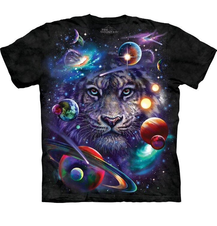 Tričko Tiger vo vesmíre - detské