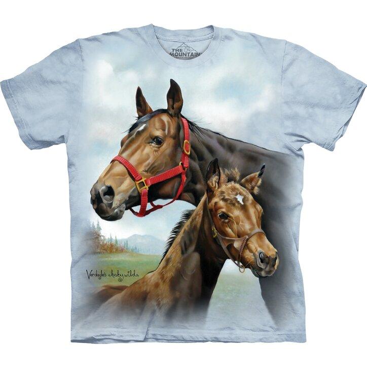 Tričko Pár koní - dětské
