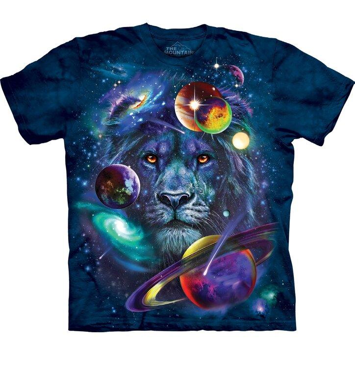 Kinder T-Shirt Löwe im Weltall