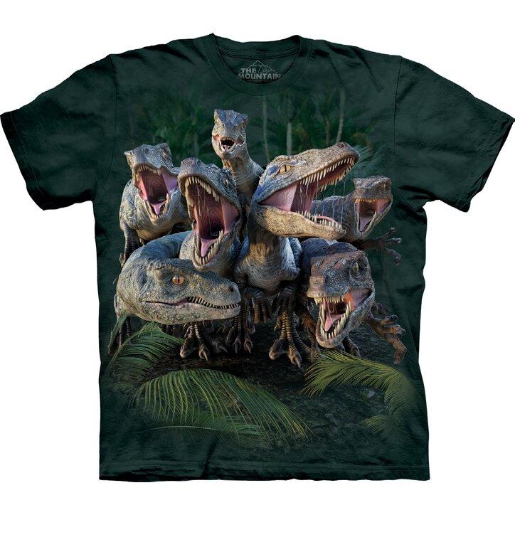 Tričko Zúrivé dinosaury - detské