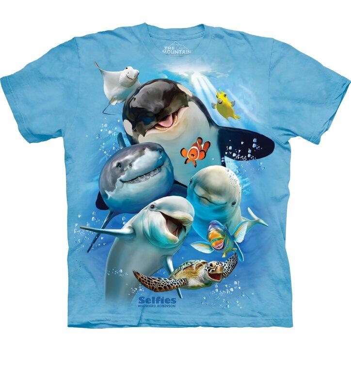 Tričko Mořské společenství - dětské