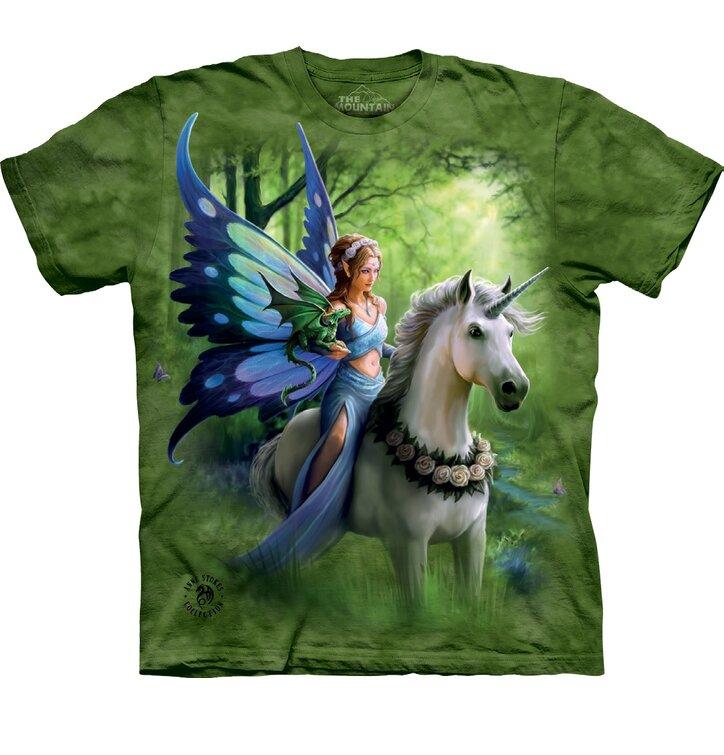 Geschenk von Dedoles Kinder T-Shirt Fee und Einhorn 1d13c29b37