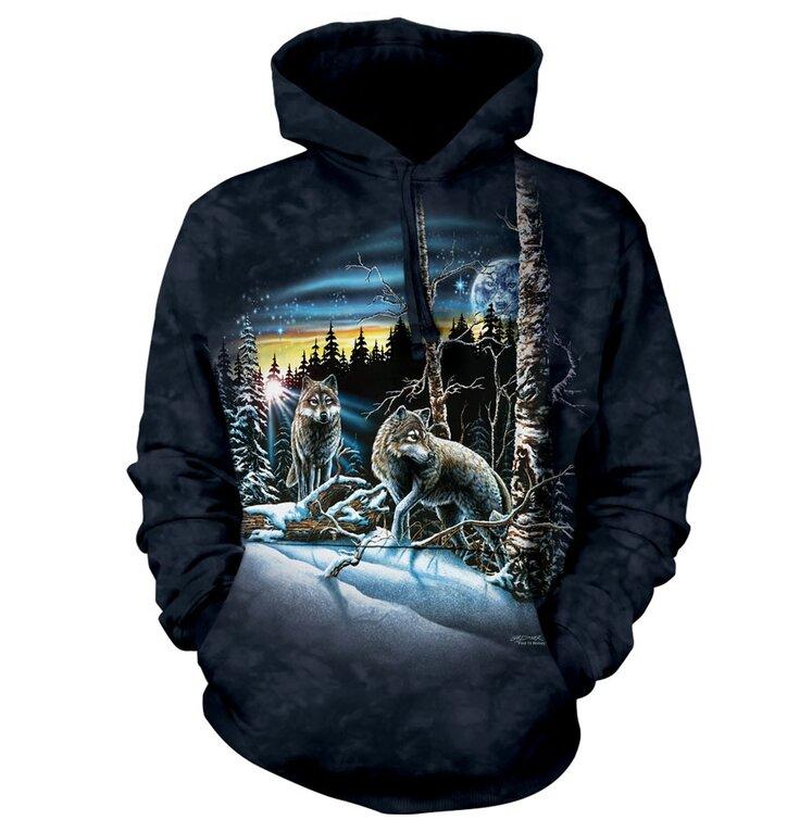 Sweatshirt Wandering Wolves