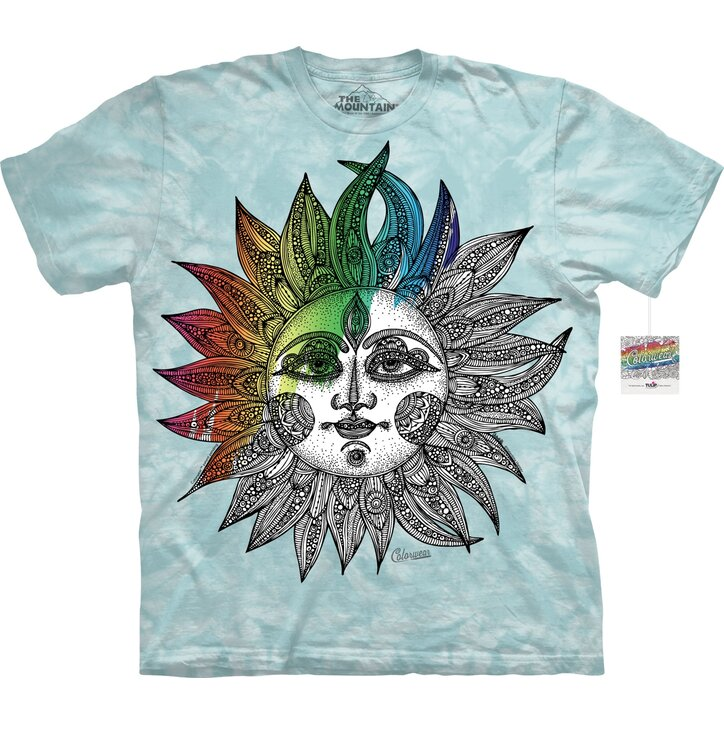 Mandala Colouring T-shirt Helios