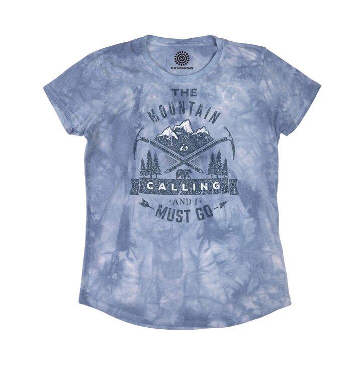 6458d693e70 Potěšte se tímto kouskem Dedoles Dámské Tri-Blend tričko Volání z hor