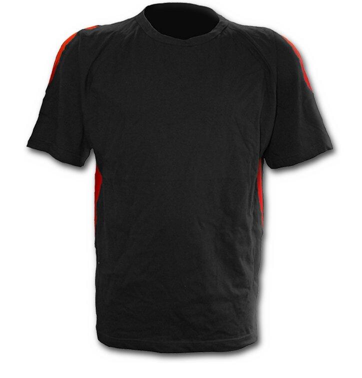 bb40c230dda24 Čierne pánske tričko s krátkym rukávom | Dedoles