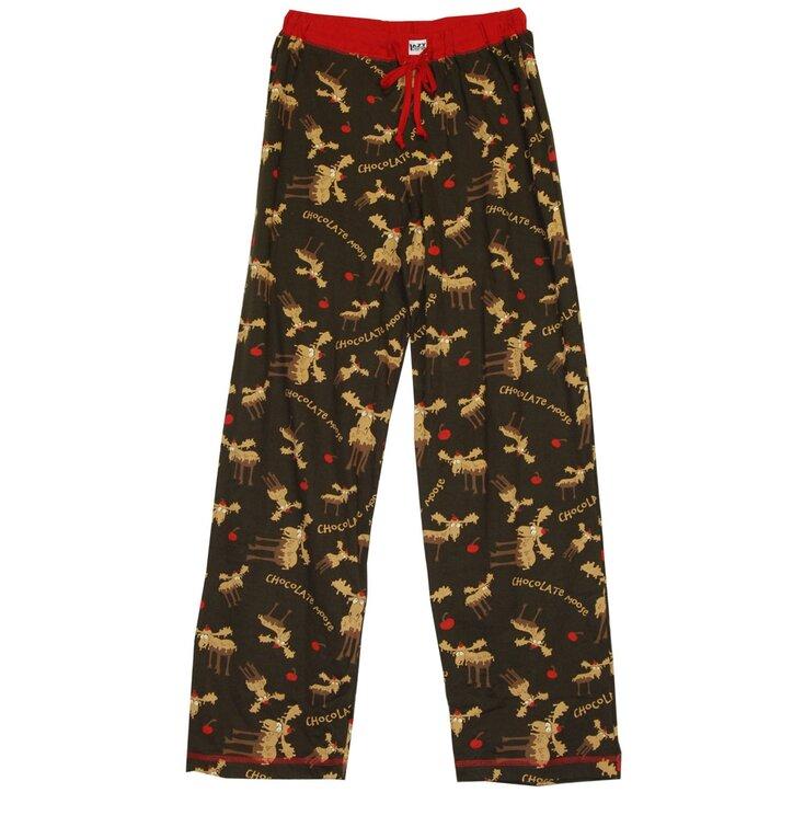 Ajándék tipp Női pizsama nadrág Csokis jávorszarvas 7bd1aee5a8