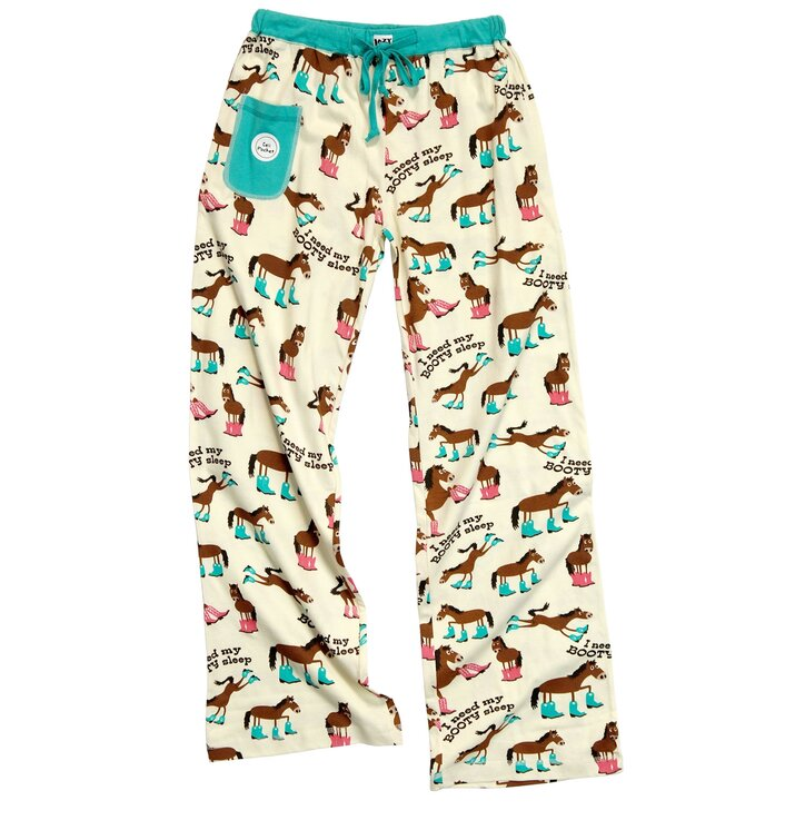 Kedvezmény Női pizsama nadrág Ló csizmában cffd6aa254