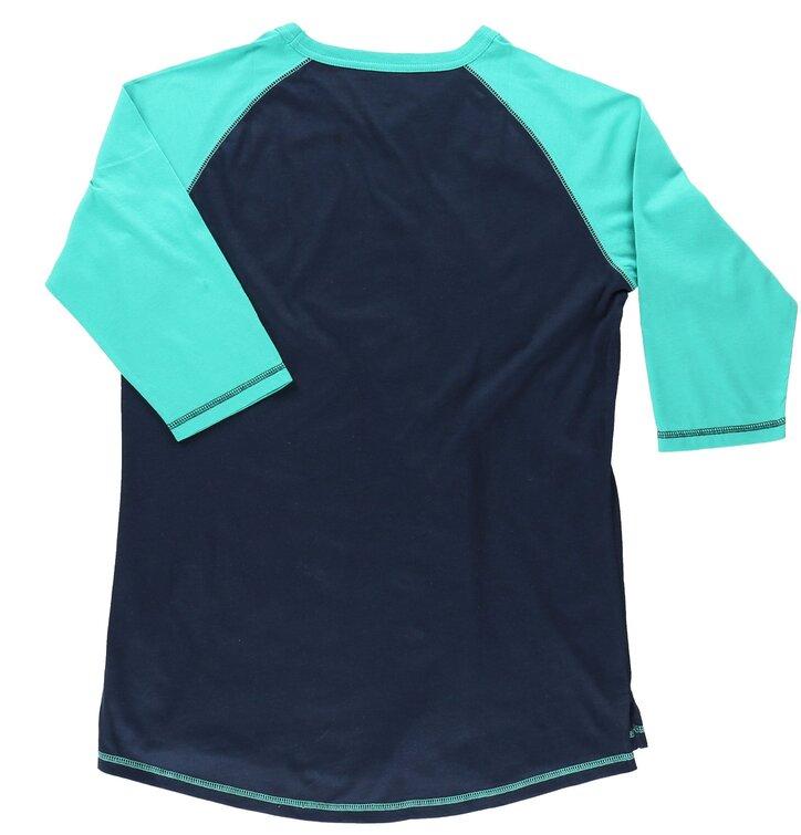 Sleva Dámské triko na spaní s tříčtvrtečním rukávem Duha a jednorožci a54ba2f74d