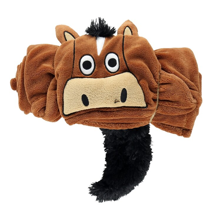 Kids' Hooded Blanket Horse