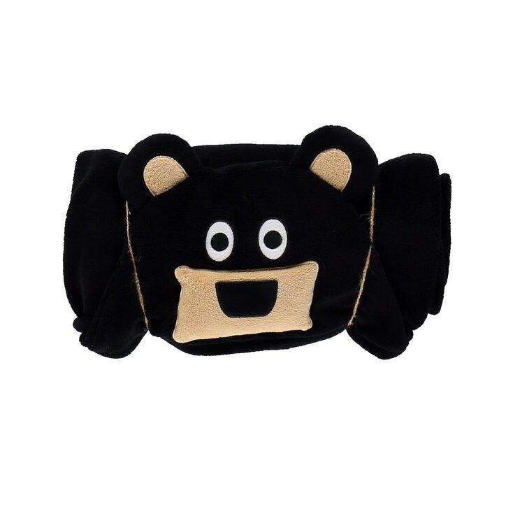 Detská deka s kapucňou Medveď