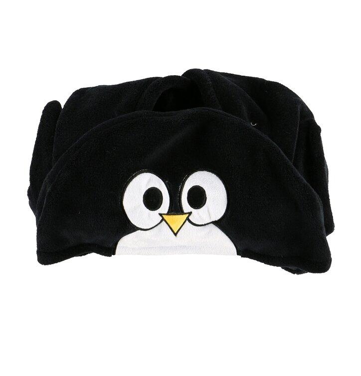 Dětská deka s kapucí Tučňák