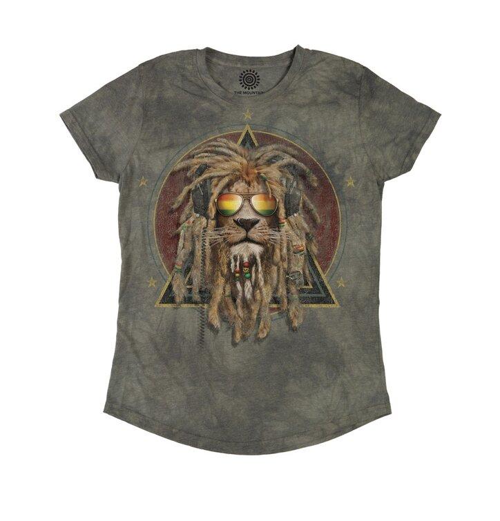Dámske tri-blend tričko Rasta Jahman