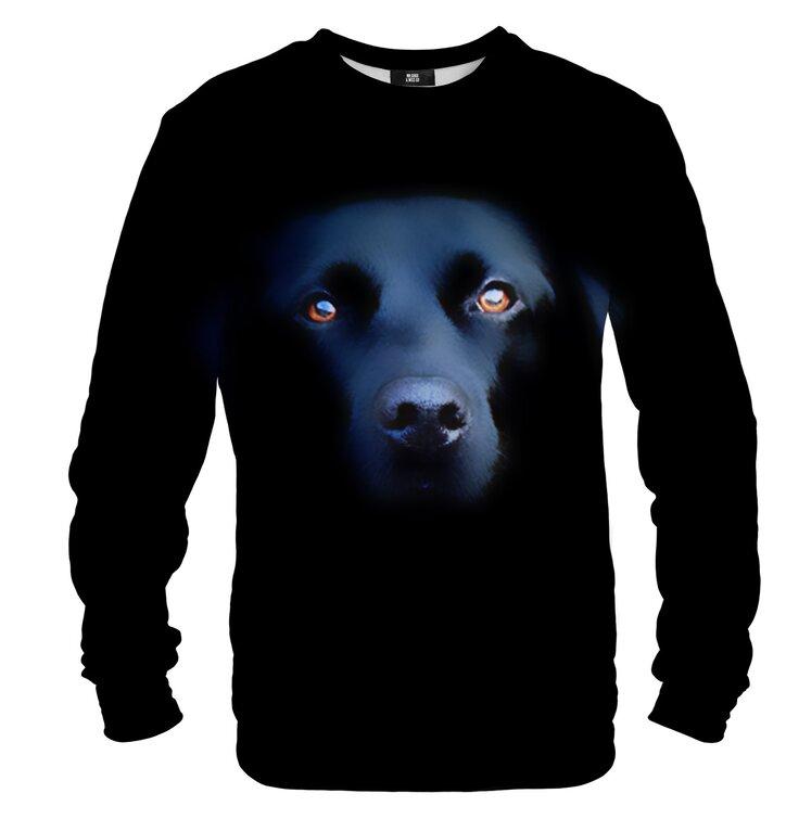 Pulover brez kapuce Črni labradorec