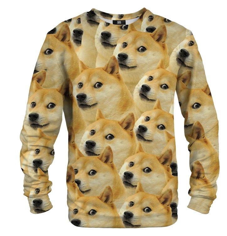 Pulover brez kapuce Doge Akita