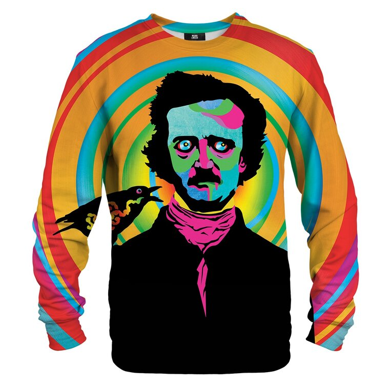 Mikina bez kapuce Edgar Poe